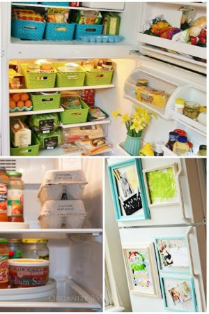 How to Organize the Fridge and Freezer