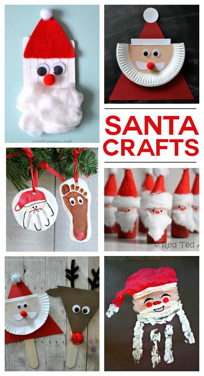 santa crafts kids activities