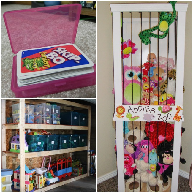 25 genius ways to organize toys kids activities Large toy storage ideas