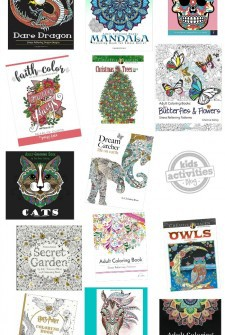 21 Totally Awesome Adult Coloring Books