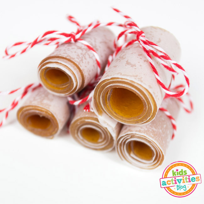 Applesauce Fruit Roll-Ups