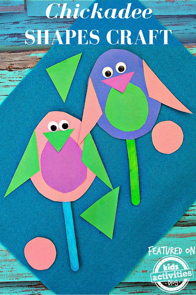 Chickadee Shapes Craft