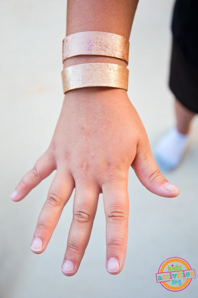 Make Bracelets from Craft Sticks
