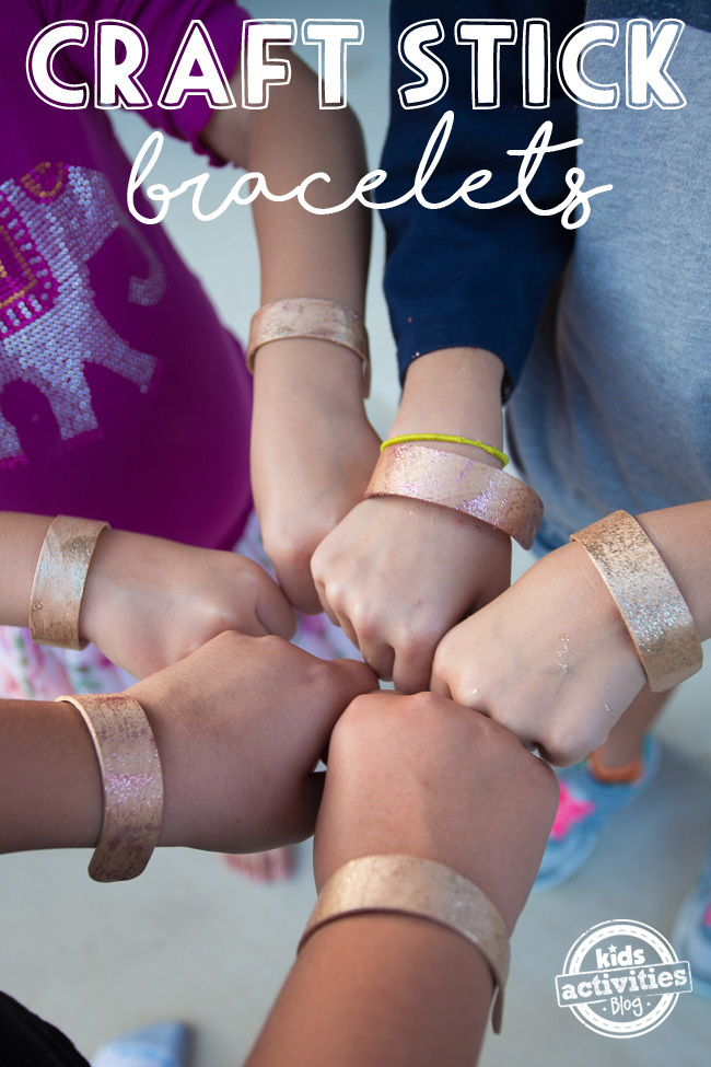 Make Bracelets From Craft Sticks