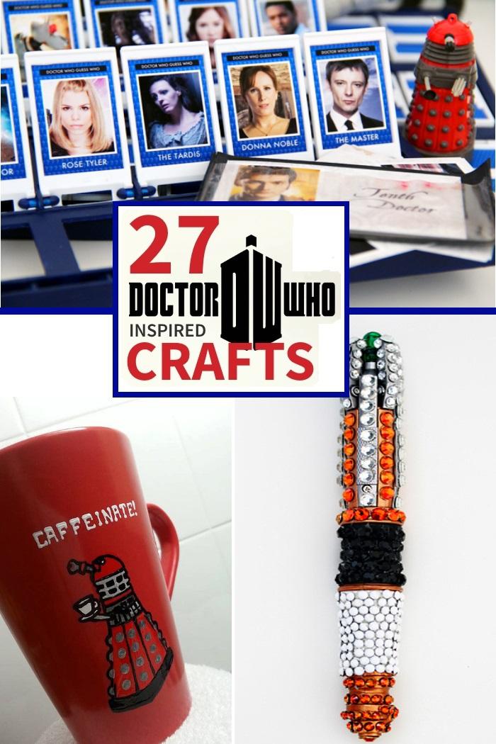 Dr Who Crafts for tweens