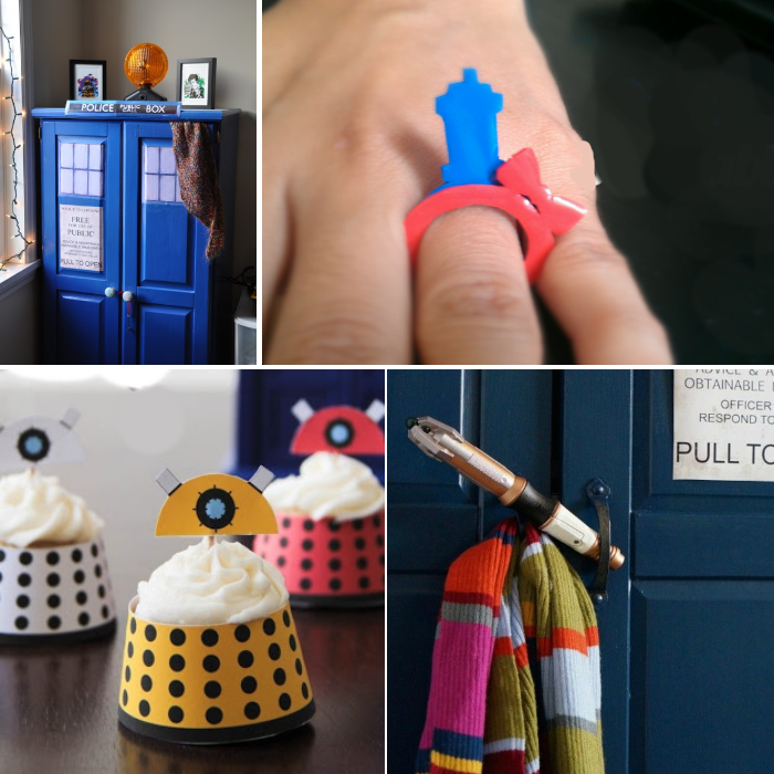 Dr Who craft ideas