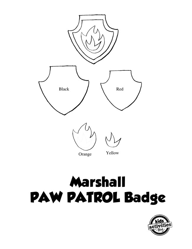 Divine image with paw patrol badge template printable