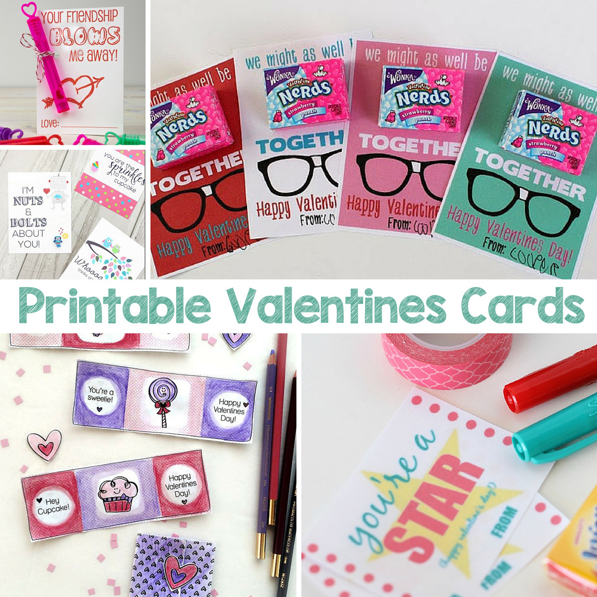Printable Valentines Cards