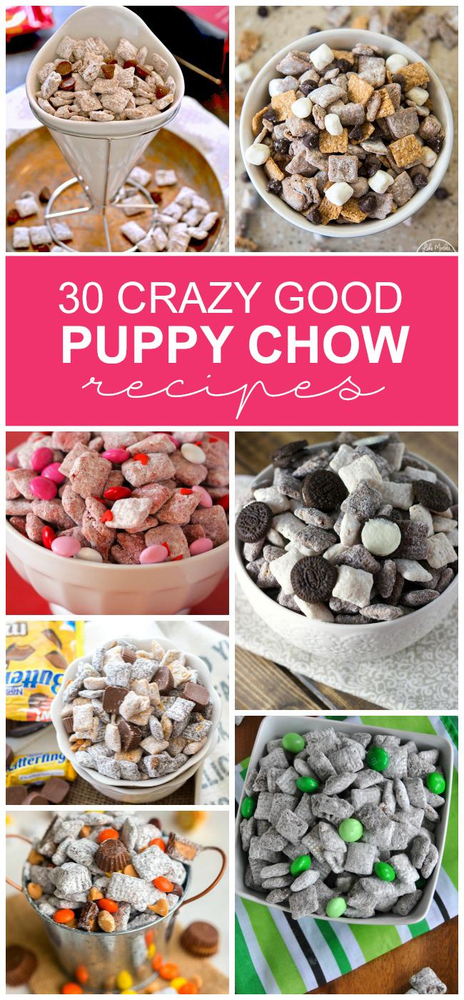 30 Crazy Good Puppy Chow Recipes
