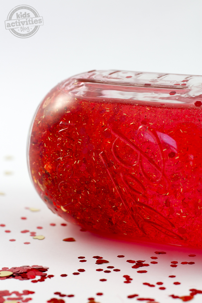 Valentine Sensory Bottle
