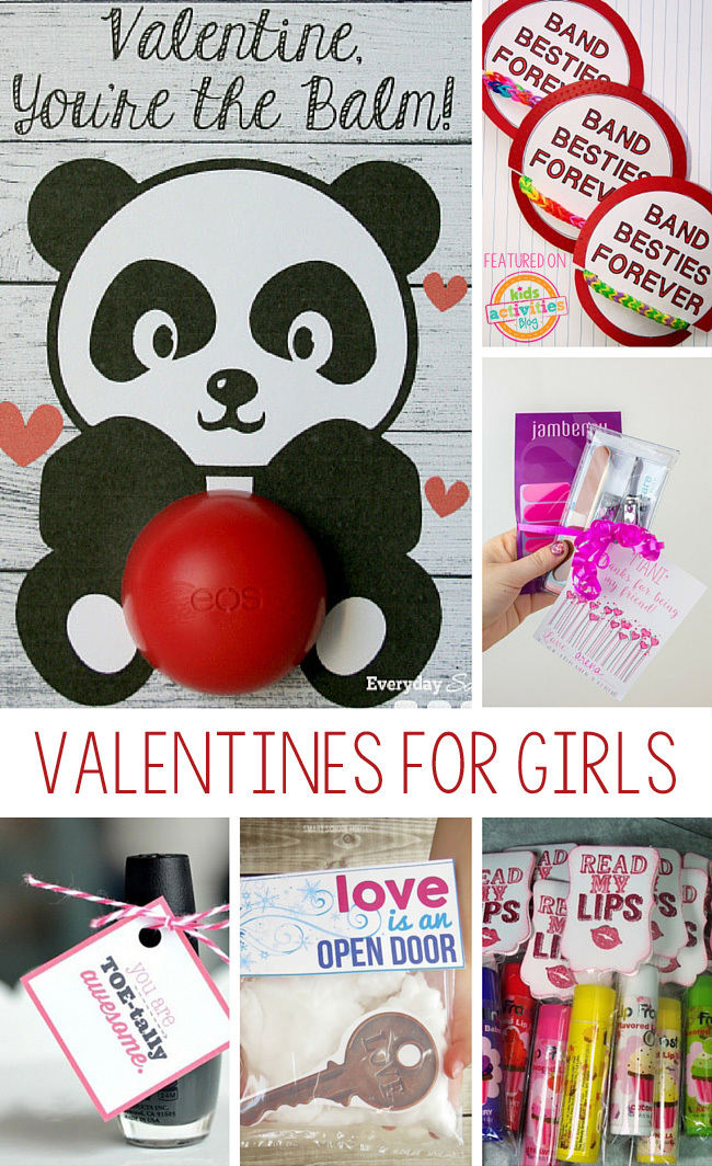 Valentines for Girls for School