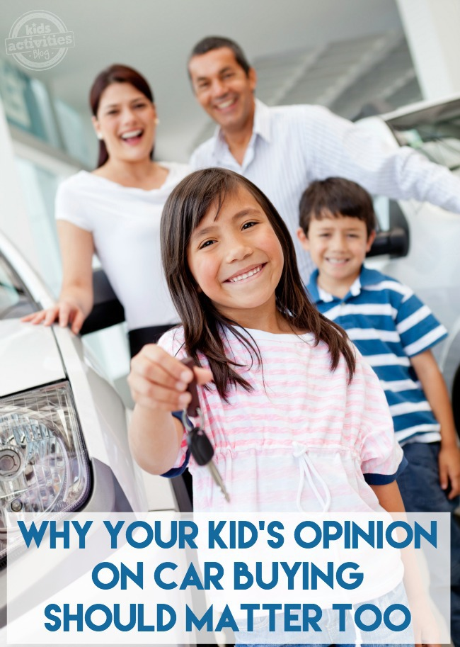 Why Your Kid's Opinion on Car Buying Should Matter Too