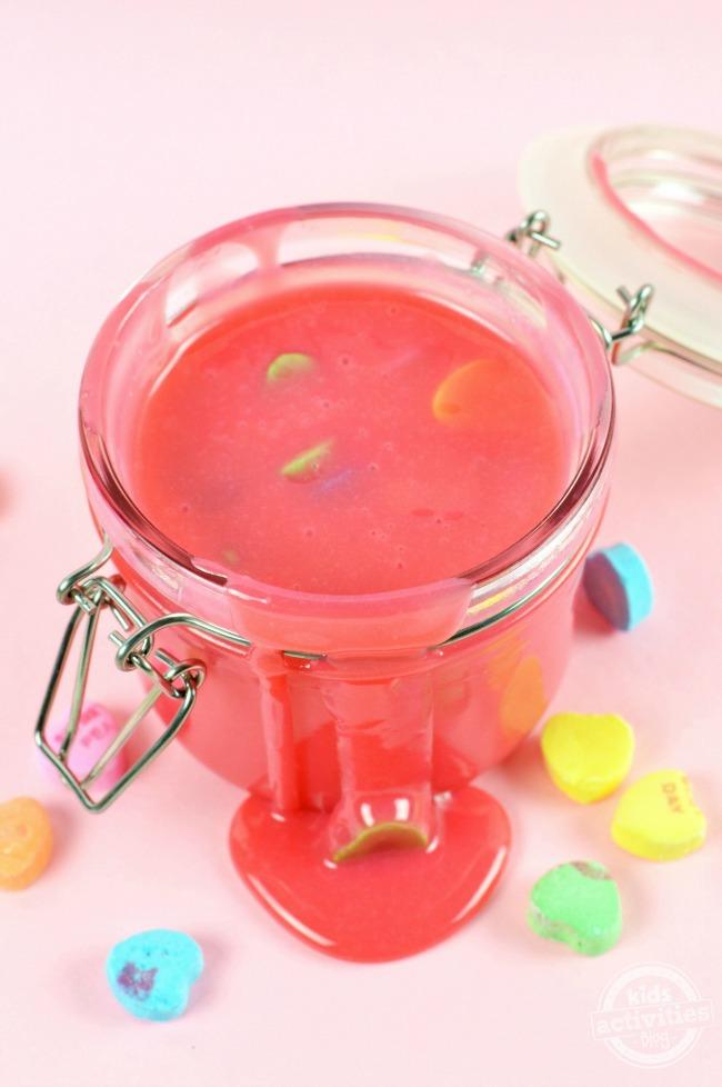 Edible Valentine's Slime