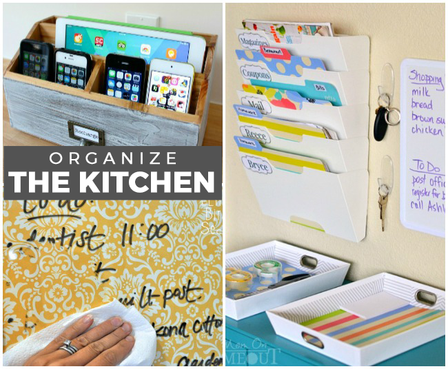 20 Kitchen Organization Ideas for Families