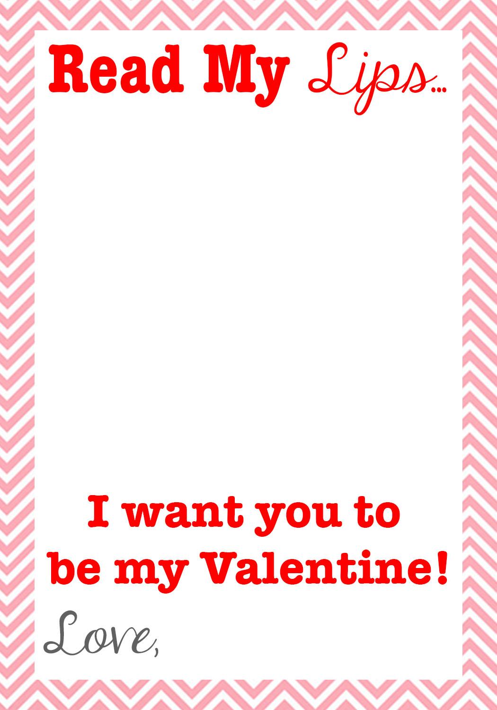 Read My Lips Valentine  Free Printable  Kids Activities Blog