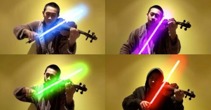 star wars violin
