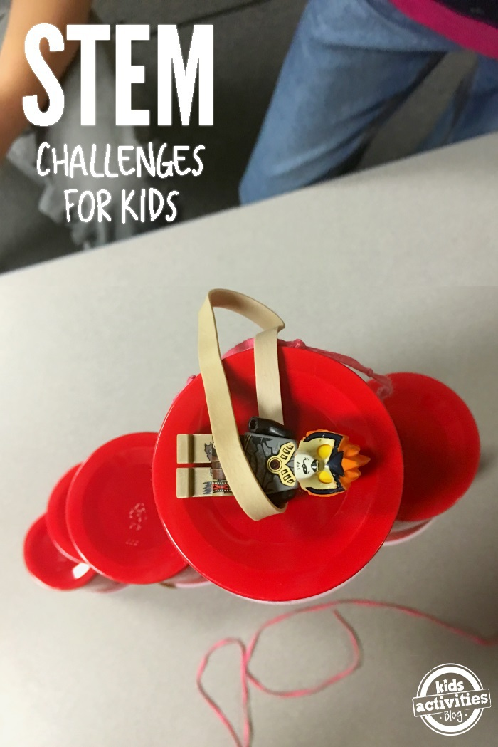 Red Cup Stem Challenge For Kids