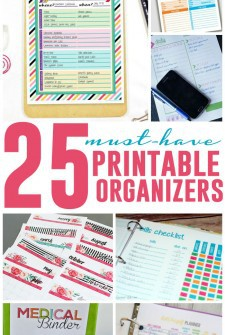 25 Must-Have Printable Organizers