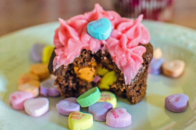 Conversation Heart Valentines Cupcakes 2