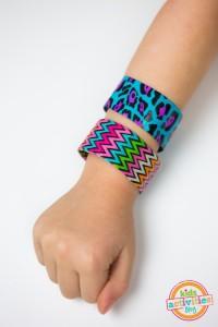 DIY Slap Bracelets