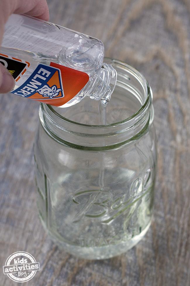 how to make glitter jars