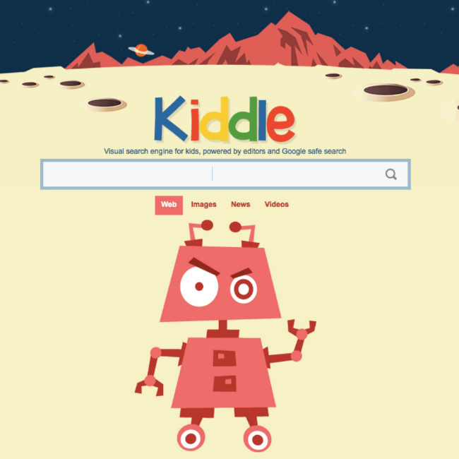 Kiddle By Google square