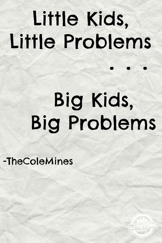 Little Kids Little Problems