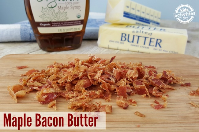 Maple Bacon Butter is so easy to make