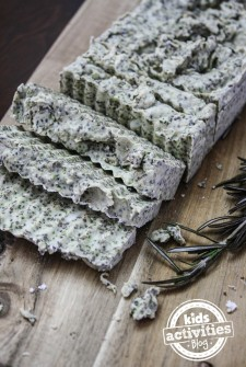 Make Your Own Rosemary Soap