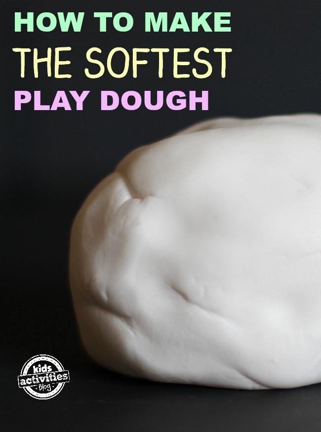 Softest Playdough Ever