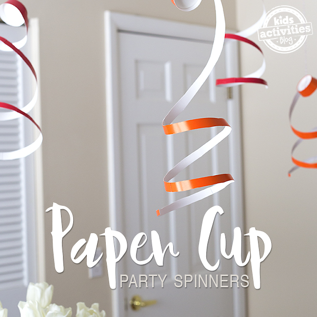 "Paper Cup Party Spinners "" Easy Party Decoration Hack!"