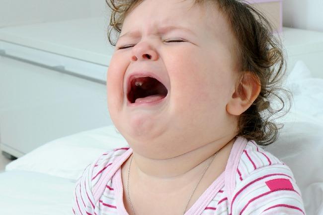 baby cry horizontal