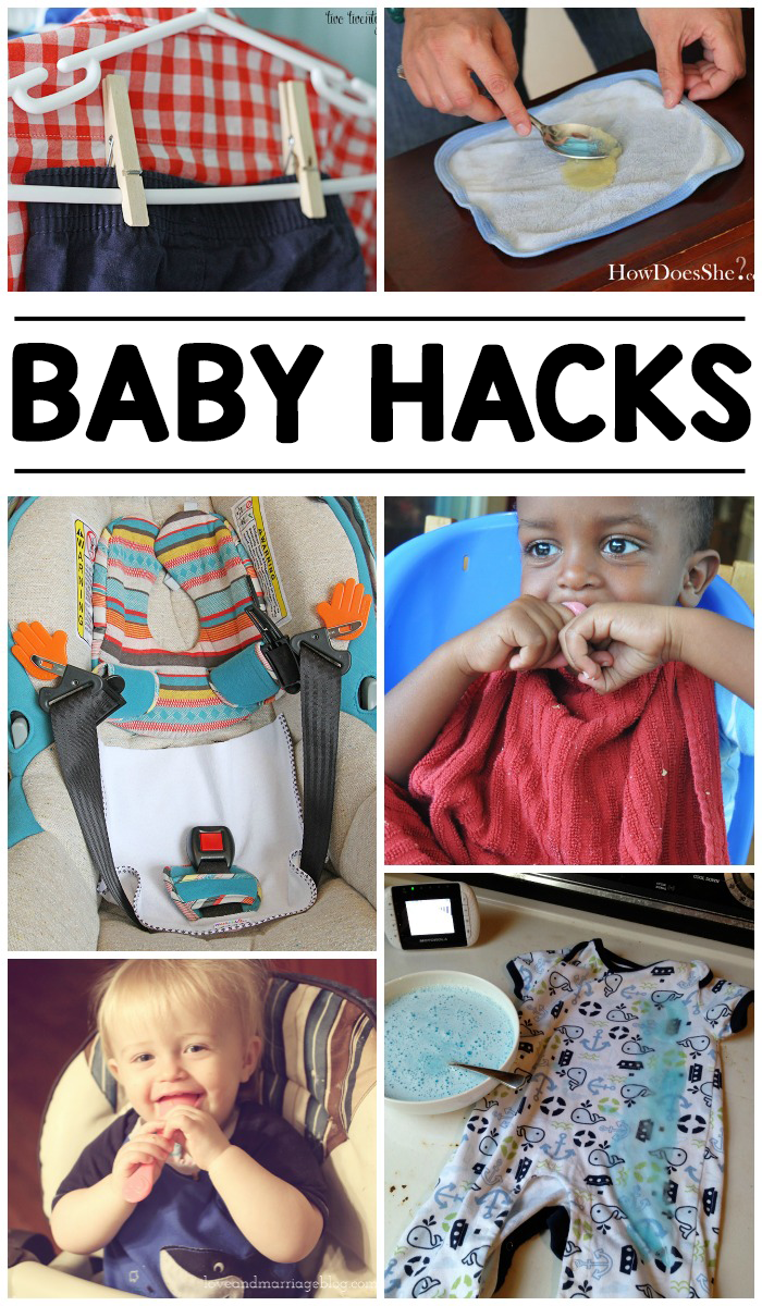 16 New Baby Hacks To Make Life Easier