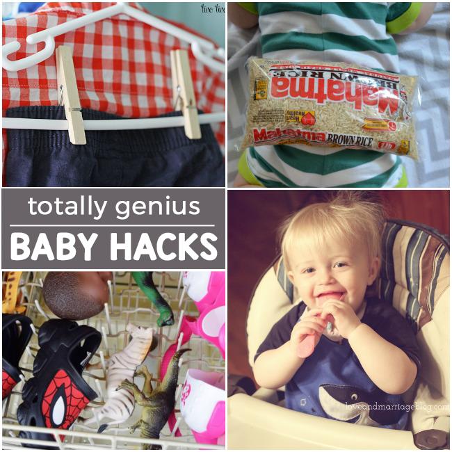 16 New Baby Hacks To Make Life Easier