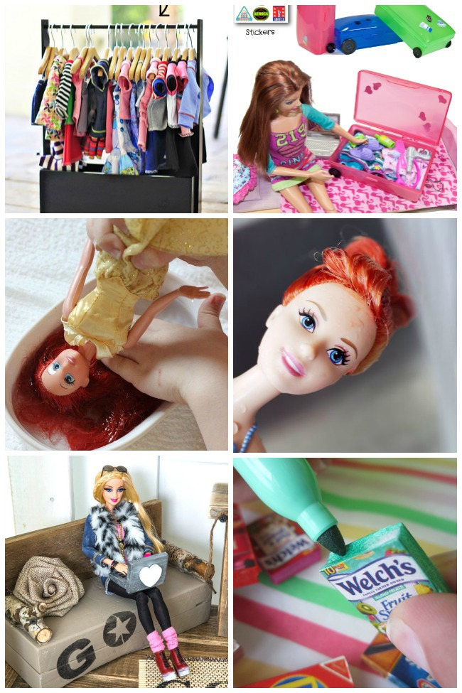 15 Barbie Hacks Amp Diy S