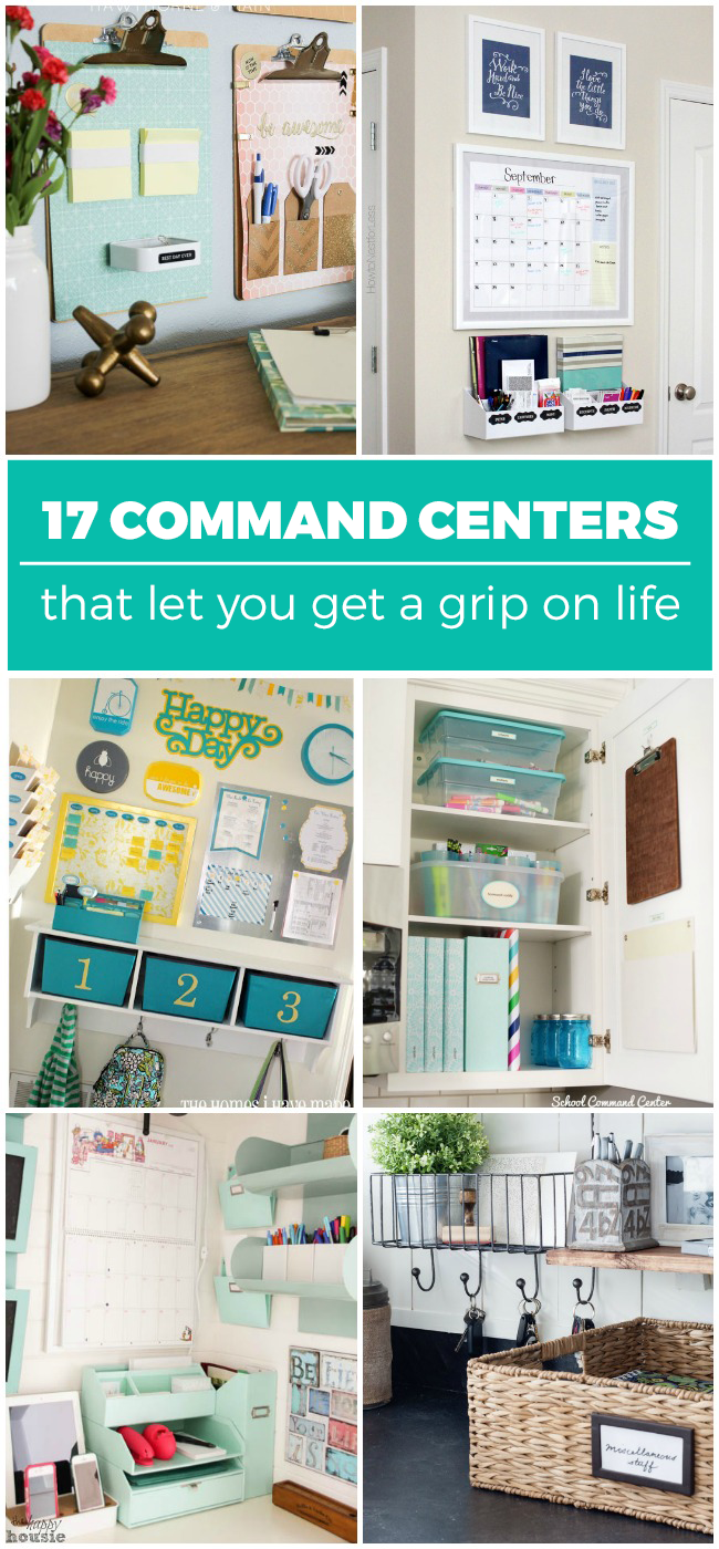 17 Command Centers that Let You Get a Grip on Life