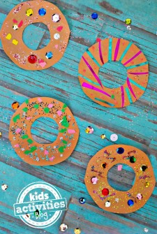 Decorate Your Own Donuts Craft