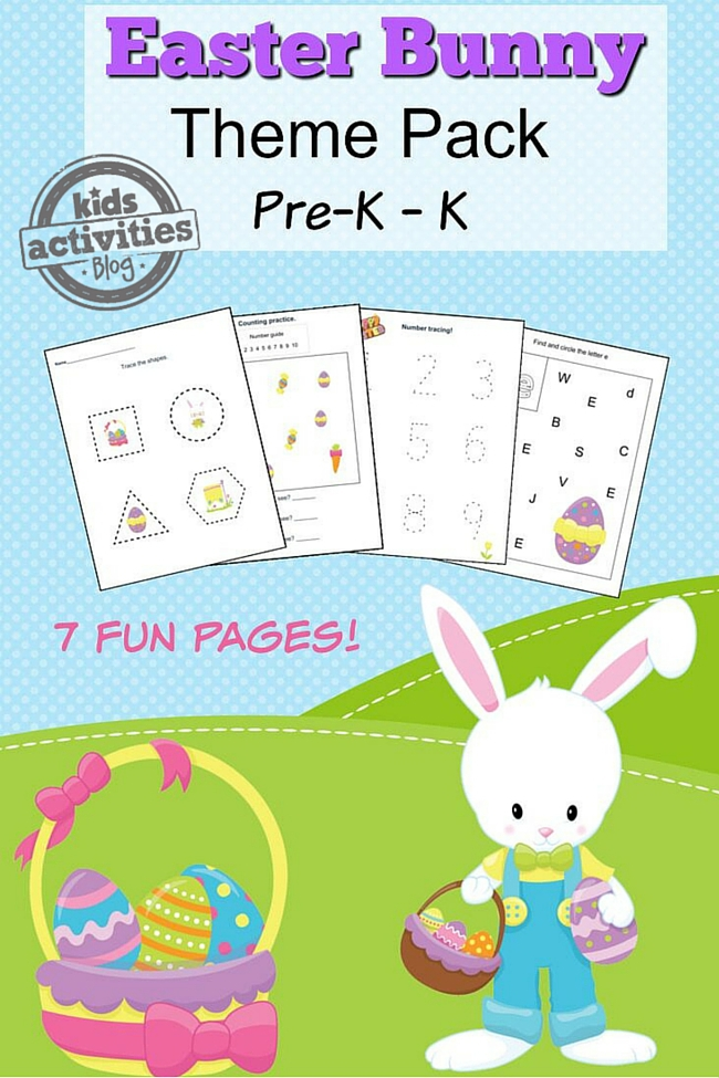 EASTER PRINTABLE PRESCHOOL WORKSHEET PACK – Printable Preschool Worksheets