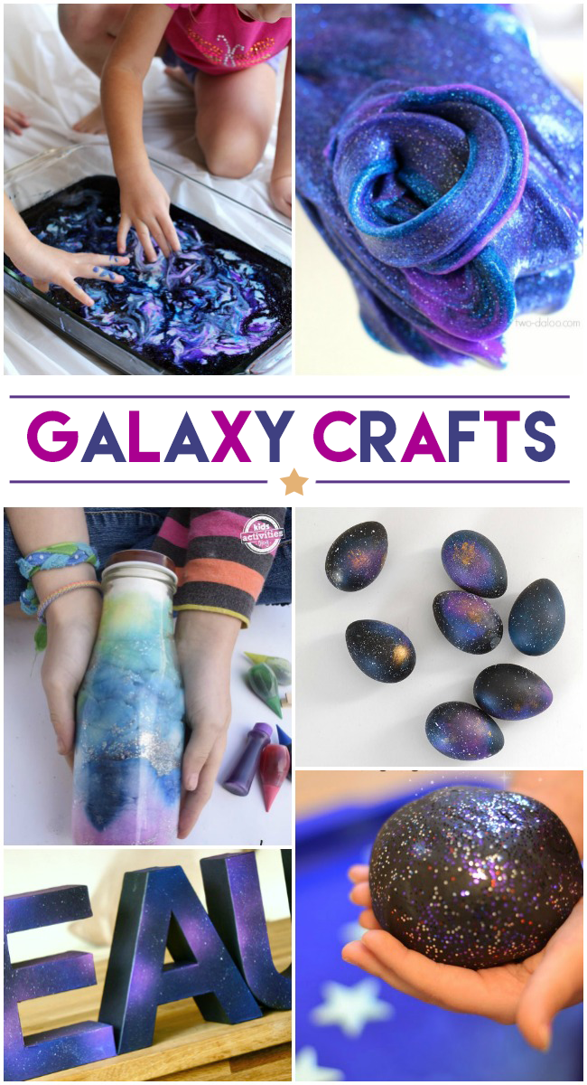 16 cool galaxy crafts for Craft paint safe for babies