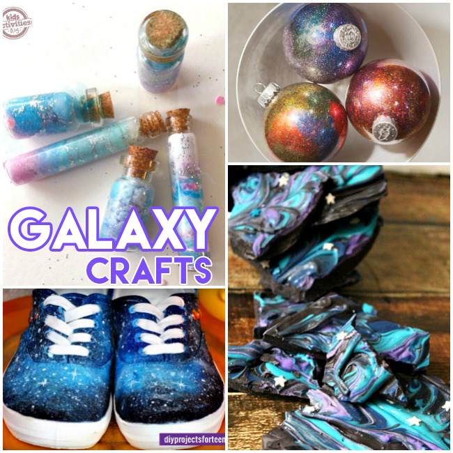 15 Cool Galaxy Crafts