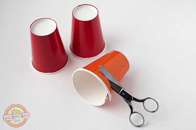 Tutoriel Spinner Party Cup en papier