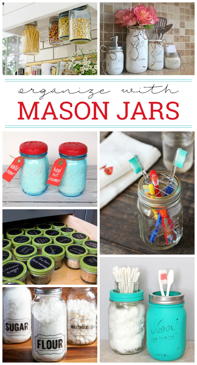 18 Effective Ways To Organize With Mason Jars