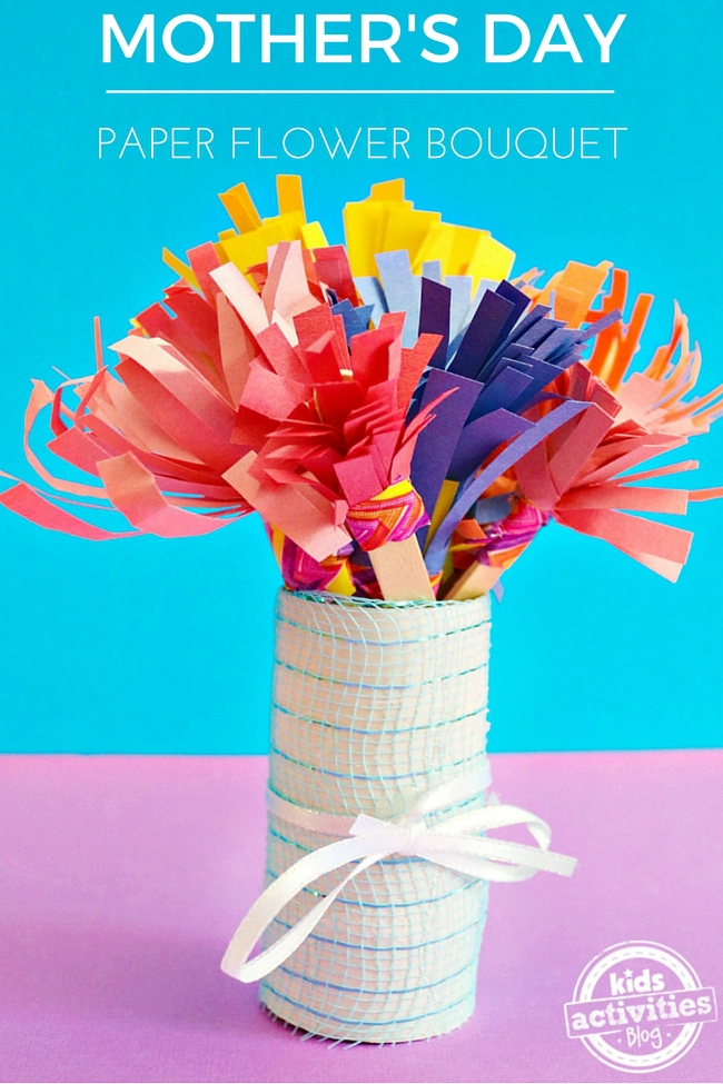 Mother S Day Paper Flower Bouquet