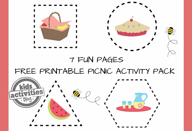 Printable Picnic Activity Pack