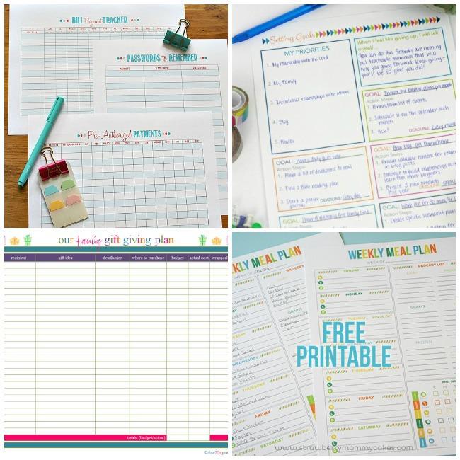 printable organizers 1
