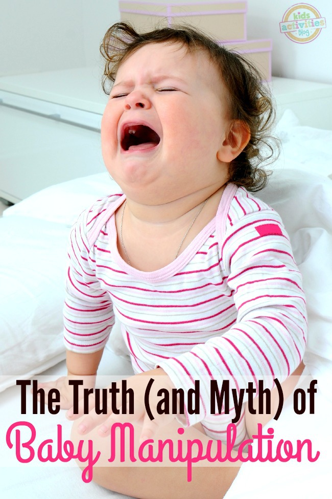 """Have you ever heard the phrase """"your baby is manipulating you""""? This post is for you. A great read for mothers of newborns and infants who wonder if their babies cries are for real."""