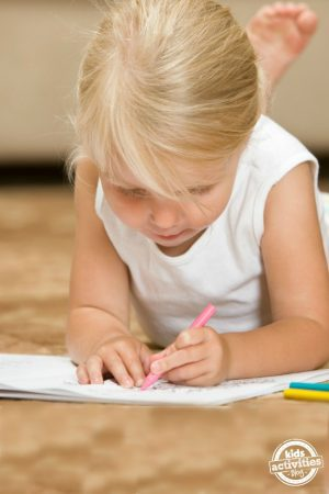 Childhood Is Coloring Outside The Lines