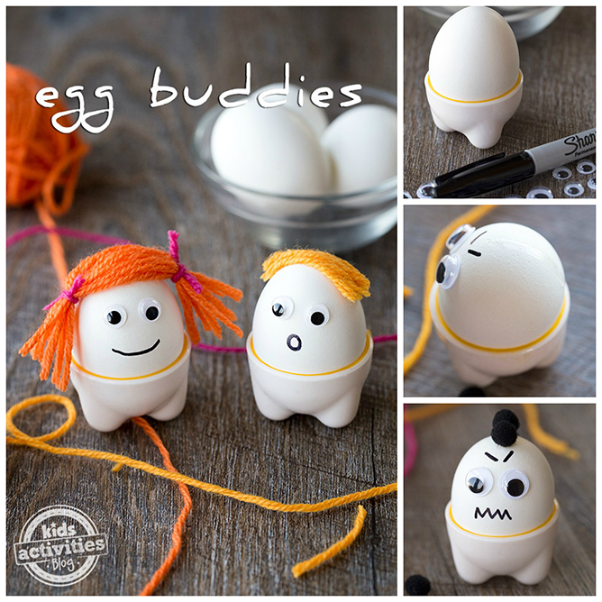 Egg Buddies are a fun breakfast treat for kids!