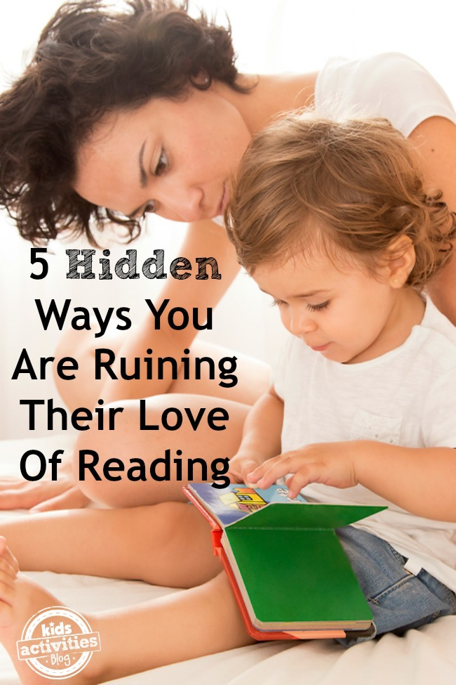 child's love of reading