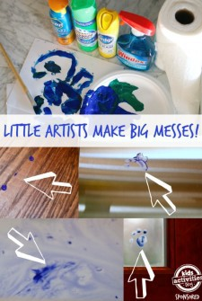 Because Little Artists Make Big Messes